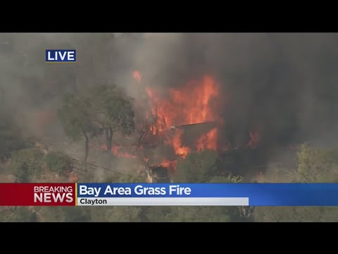 Fire Destroys Homes In Clayton, Contra Costa County
