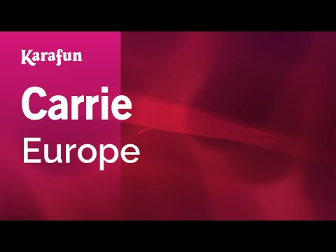 Karaoke Carrie - Europe *
