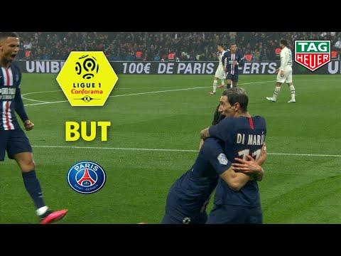 But Edinson CAVANI (25') / Paris Saint-Germain - Girondins de Bordeaux (4-3)  (PARIS-GdB)/ 2019-20
