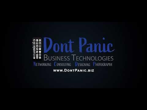 Dont Panic Business Technologies Logo V010 V001 Dark ByJeremyBenisek