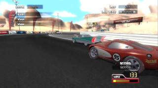 Disney, Pixar, Official Cars Race O Rama HD video game trailer PS3 Xbox Nintendo Wii and DS