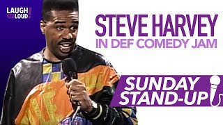 Steve Harvey in Def Comedy Jam | Sunday Stand-Up | LOL Network