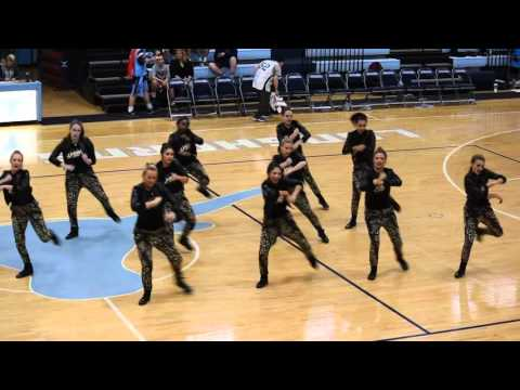 Parkway West High School Poms Hip Hop Dance 2015