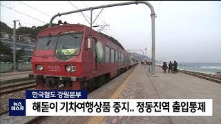 2020. 12. 31 [원주MBC] 해돋이 기차여행상…