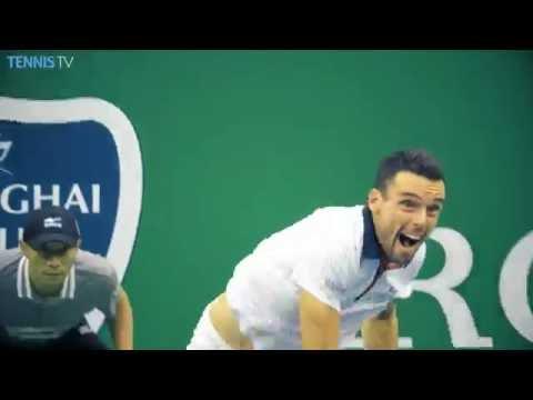 2016 Shanghai Rolex Masters: Semi-Final Highlights ft. Djokovic v Bautista Agut, Murray v Simon