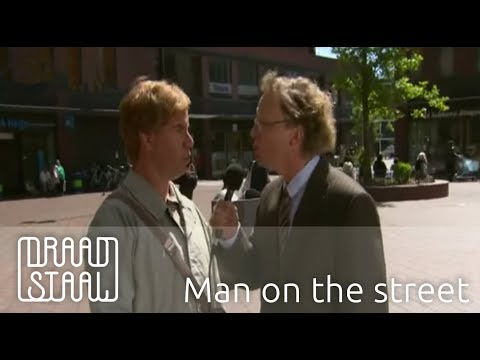The Man on the street | Draadstaal