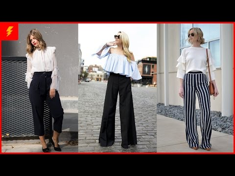 Find Out How To Wear Wide Leg Pants Like A Real Diva