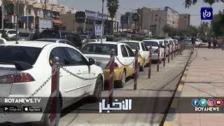 مطالبات بنقل سرفيس شارع فلسطين في إربد إلى خارج المجمع