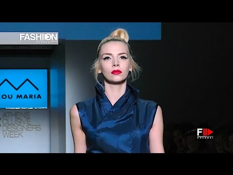 NAKOU MARIA - 21st AXDW Athens Fashion Week - Fashion Channel