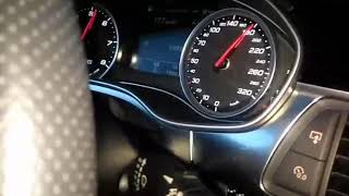 Audi RS6 100-200km/h speed test