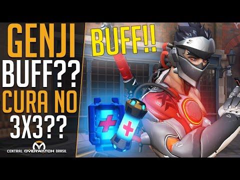 BUFF NO GENJI + CURA NO 3X3?? - Central Overwatch Brasil