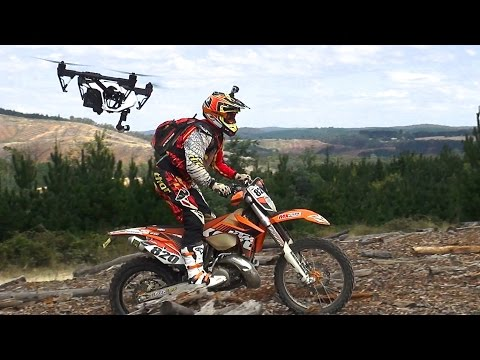 KTM Wrecking Crew droned - DJI Inspire 1