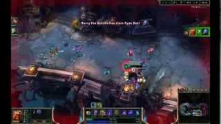 League of Legends 3v3 beginner ai Gragas noob plays