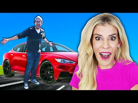 SURPRISING Our BEST FRIEND With His DREAM CAR! (EMOTIONAL Reaction) By Matt And Rebecca