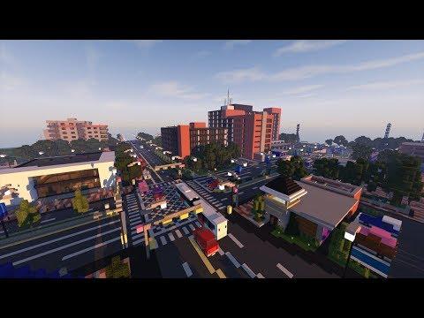 Ville Moderne Américaine Typique Dans Minecraft ! + DOWNLOAD