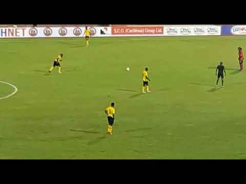 Fabian Reid giving Jamaica 2-1 lead