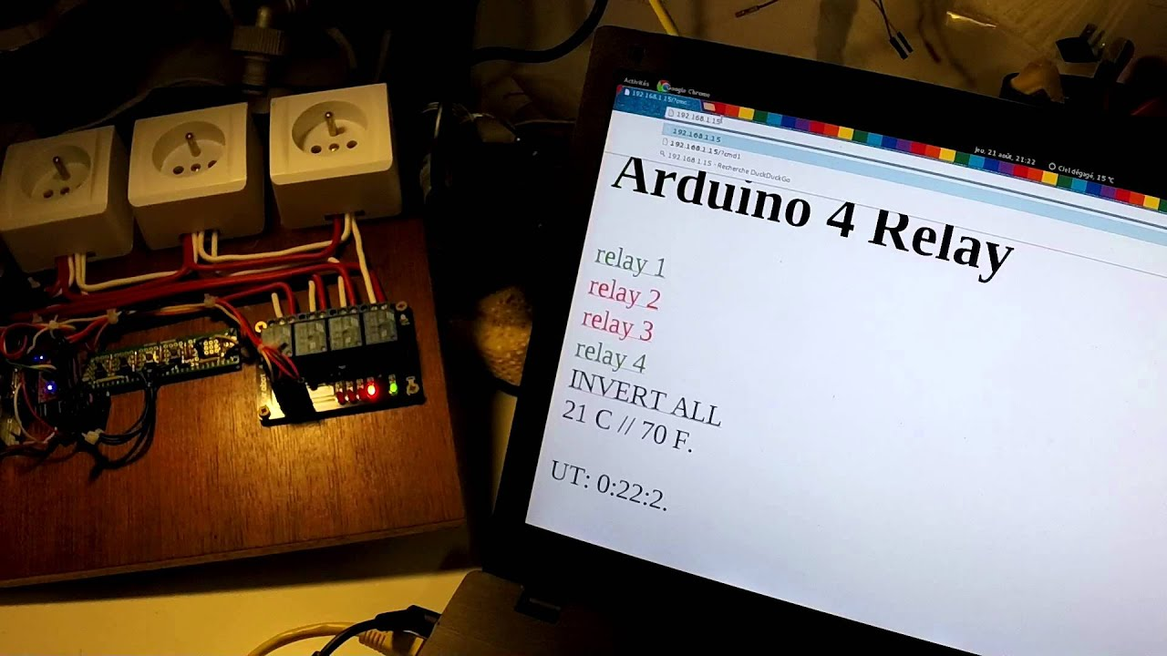 Sehr Projet Arduino n°1: Multiprise internet - YouTube XS28