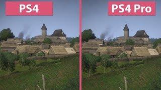 [4K] Kingdom Come Deliverance – PS4 vs. PS4 Pro Graphics Comparison