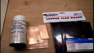 PCB Making-Part 1-Photo Resist Method of Etching a Printed Circuit Board