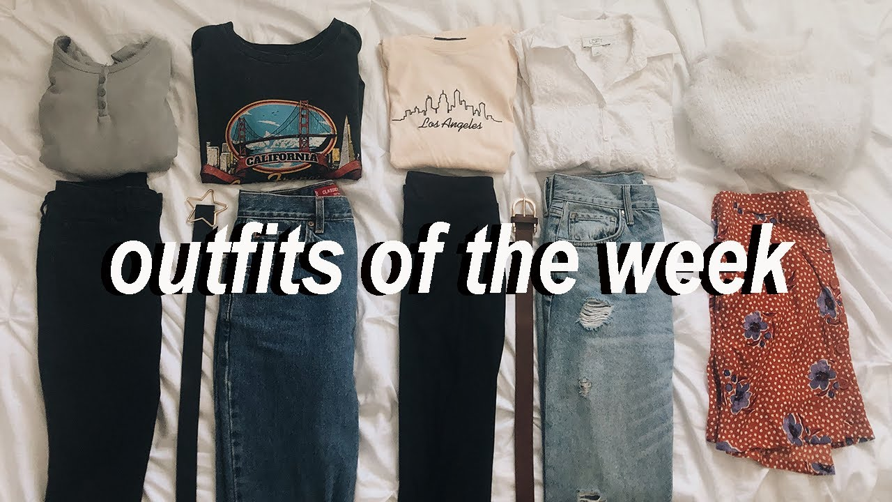 [VIDEO] - what I actually wore this week // ➪ OOTW (outfits of the week 2019) 1