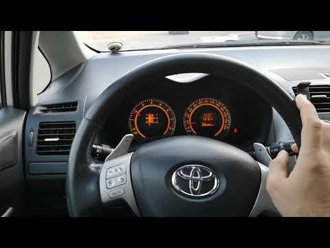Что делать ? Аварийный режим шестерёнка, роботизированная коробка Toyota corolla auris .