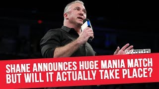 Shane McMahon Announces Huge WrestleMania Match, But Will It Actually Take Place?