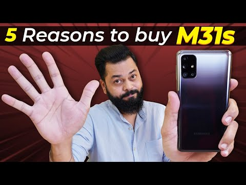 Top 5 Reasons To Buy Samsung Galaxy M31s ⚡⚡⚡ 64MP Intellicam, 6000mAh Battery & More