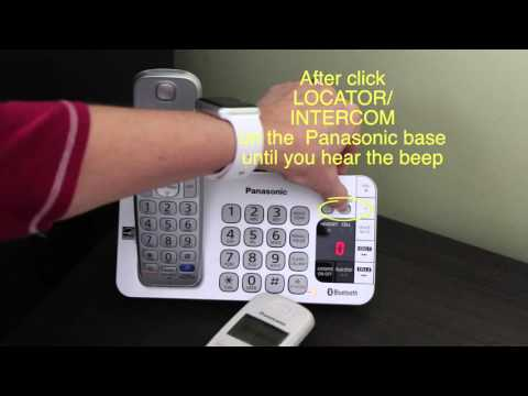 How To Pair A Compatible Handset To Your Panasonic KX-T Series Base