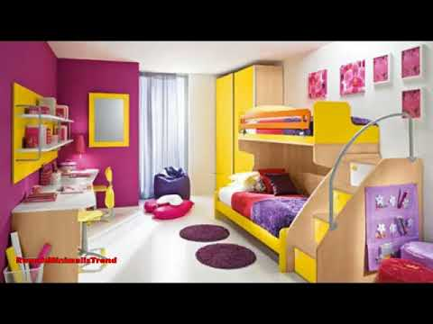 Contoh Desain Kamar Tidur Anak Laki-laki Minimalis - YouTube