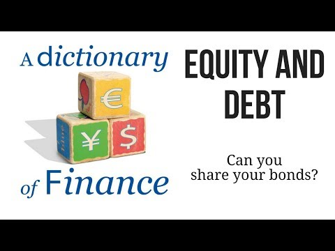 Equity and Debt: Can you share your bonds?