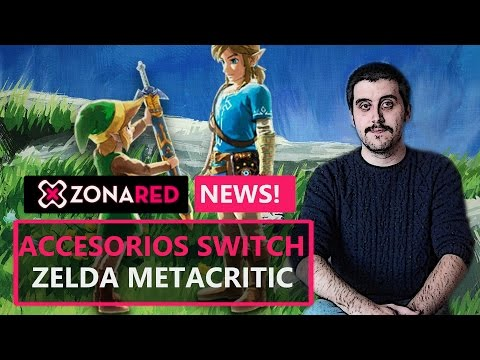 NINTENDO SWITCH todos los accesorios | ZELDA 98/100 Metacritic - ZR News