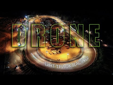 Drone Dirt Track Racing - Lancaster Motor Speedway, South Carolina