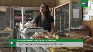 Vecinos de Los Hornos denuncian el pésimo funcionamiento de Telefónica