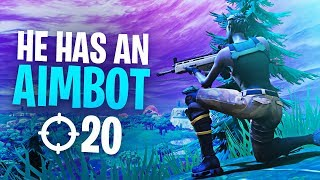 I GOT KILLED BY A HACKER!! HE HAS AN AIMBOT!! | Fortnite Battle Royale Highlights #175