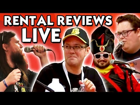 Rental Reviews LIVE! (Panel from TooManyGames) - Rental Reviews