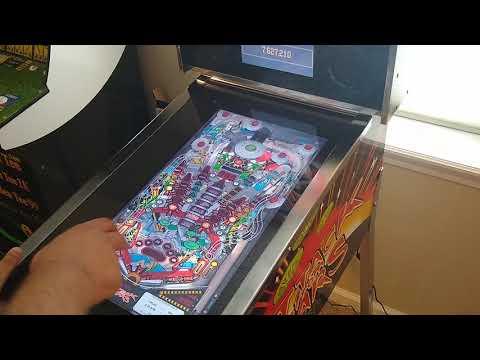 Arcade1up Attack From Mars Pinball gameplay. Featuring #AttackFromMars #Pinball #Arcade1up from lacrossed55