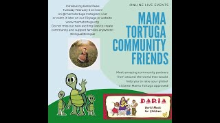 IG Live Mama Tortuga Community Friends with Daria