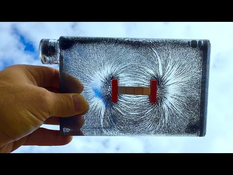 Magnetic Field Visualizer - How To See Invisible Magnetic Lines - 3D DIY