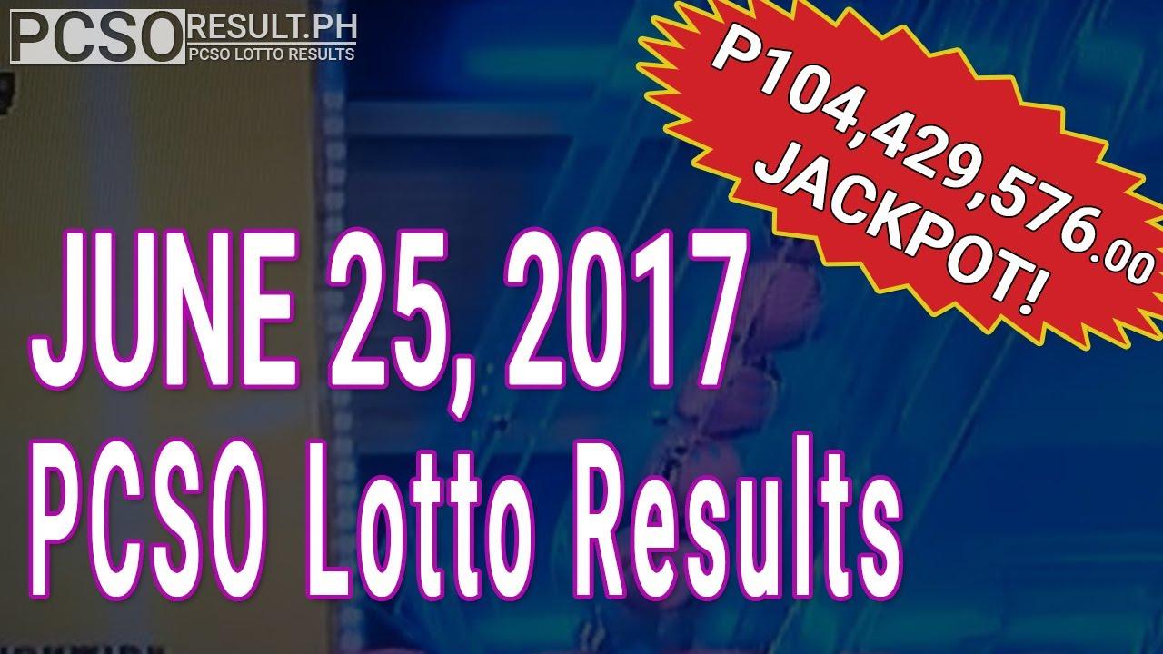Lotto Result June   Swertres Ez