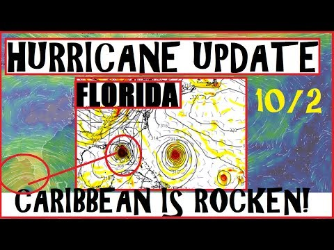 HURRICANE Update! CARIBBEAN Is Now Rocken! FLORIDA & GULF States Need to be Aware!
