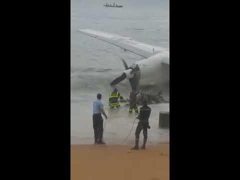 Crash d'un avion au large d'Abidjan