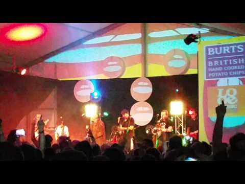 Bad Manners. Lip up fatty. Looe music festival 2015.