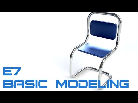 E7 SolidWorks 2016 -  Basic Modeling 5 Tutorial