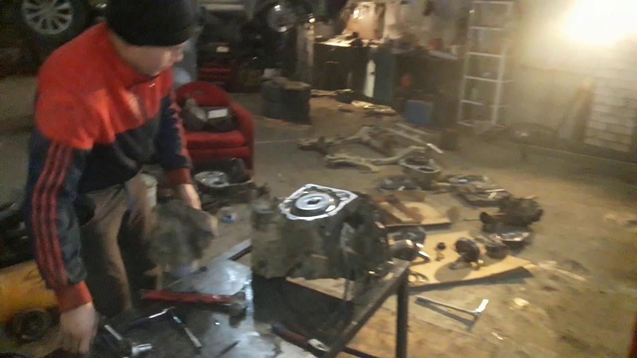 Кузовной ремонт дайхатсу ярви начало 1-я серия