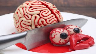 STOP MOTION COOKING - ASMR Unusual Cooking Meat From Brain, Scary Things #5