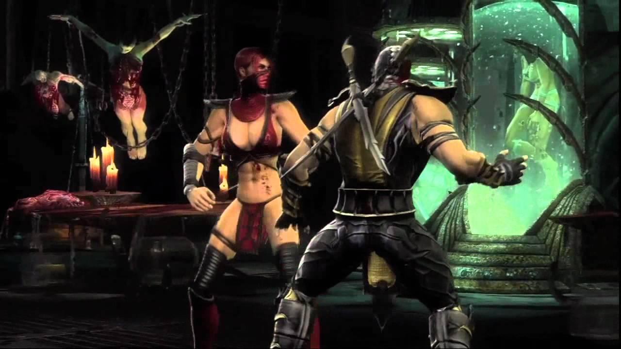 Mortal Kombat 9 'Skarlet Vignette' TRUE-HD QUALITY - YouTube