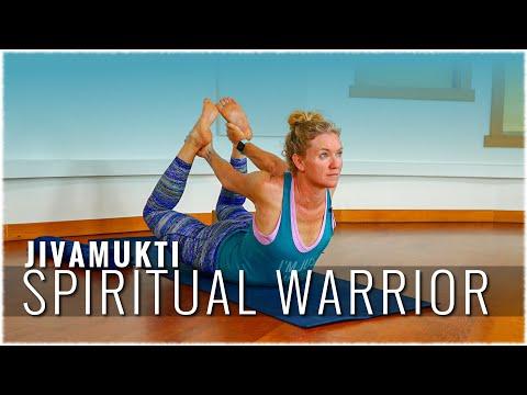 Jivamukti Yoga w Jonni-Lyn Friel: Jivakukti Spiritual Warrior