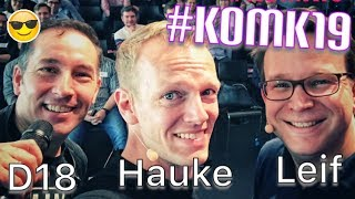 Podcasting und Social Media - Vortrag bei der #KOMK19 in Dortmund