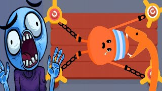 Troll Face Quest Horror vs Dumb Ways To Die 2 - Funny Dumbest Troll Death Best moments Compilation