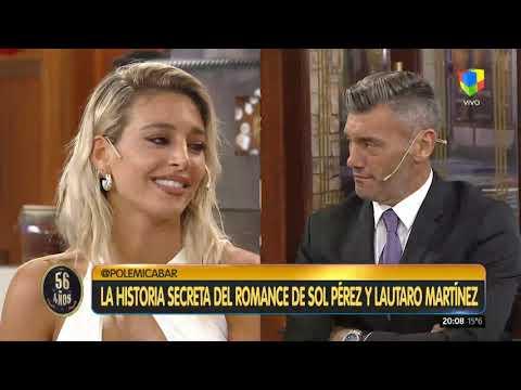 Sol Pérez confirmó el amorío con Lautaro Martínez que le respondió en Instagram